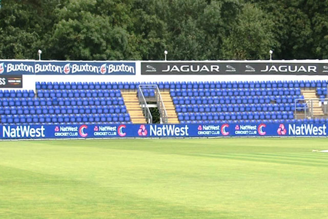 Boundary change: cricket authorities set to trial digital ad displays at Cardiff this week