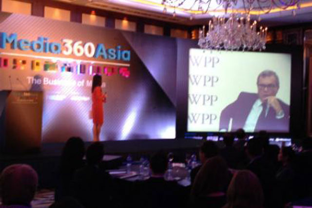 Media360Asia: Sir Martin Sorrell addresses delegates from New York