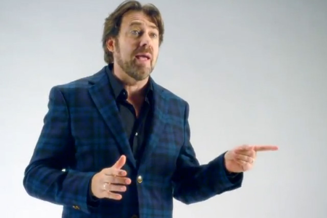 Jonathan Ross: stars in Sky+ TV campaign
