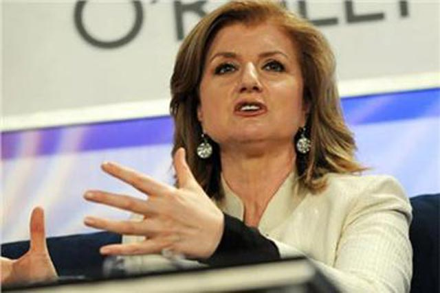 Arianna Huffington: disclosed plans for Huffington Post's UK launch