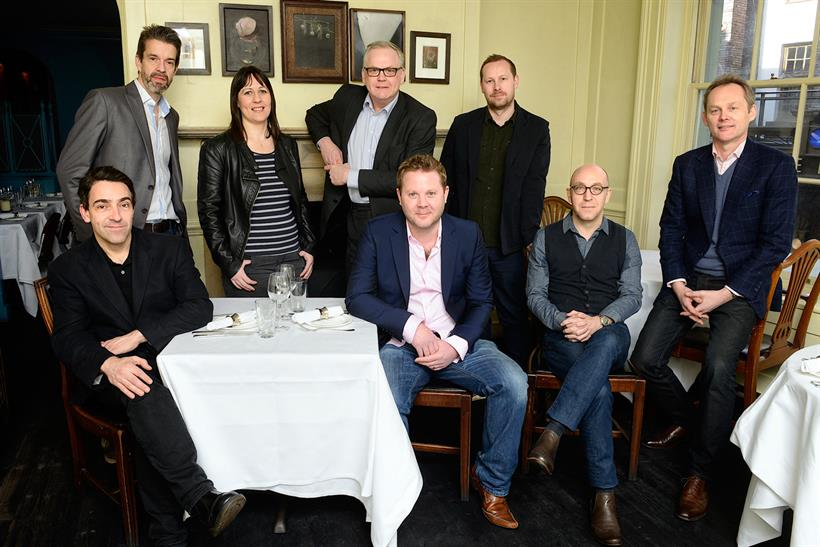 Empire editors from L-R: Andrew Collins, Ian Nathan, Emma Cochrane, Barry McIlheney, Mark Dinning, Colin Kennedy, Mark Salisbury, Mark Thomas