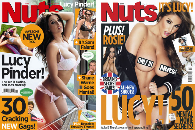 Nuts: publisher IPC Inspire rejects Co-op's call to cover issues in modesty bags