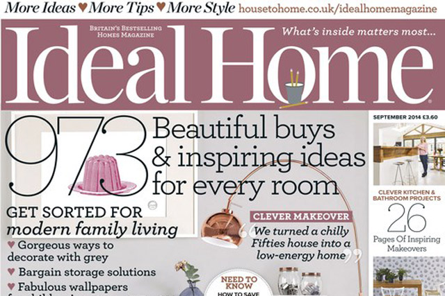 Ideal Home: one of IPC Media's home interests titles to report increased joint circulations