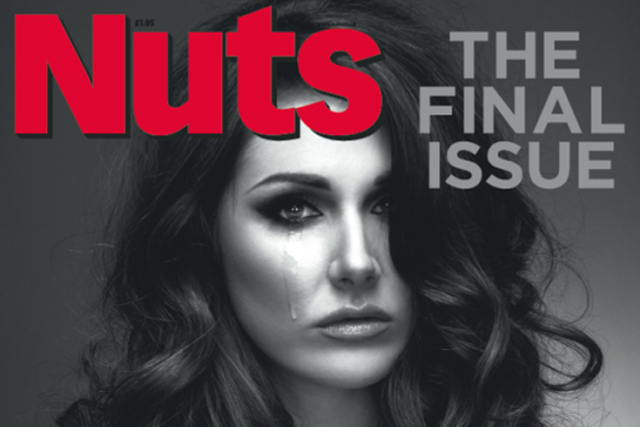 The last issue of Nuts hit newsstands on 29 April
