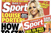 Daily Sport and Sunday Sport newspapers