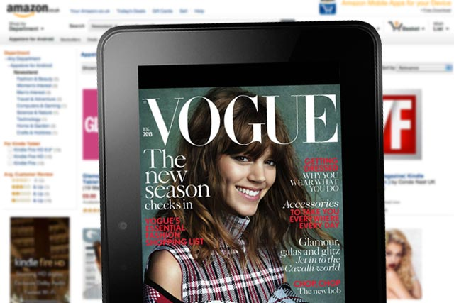 Condé Nast explores new direction for magazines with Amazon