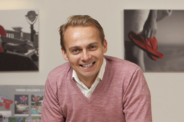 Andrew Shelton: steps down as Virgin Holidays marketing director (photo: Christopher Willan)