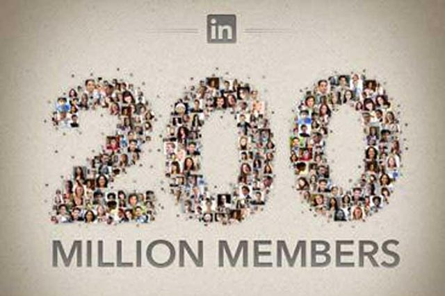 LinkedIn: valued at $18bn