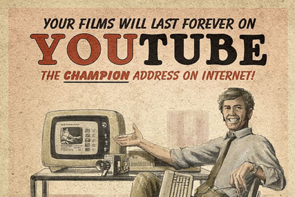 Moma's vintage YouTube treatment