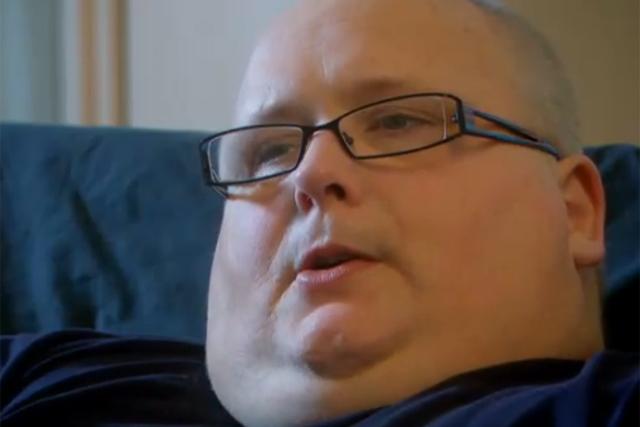 Fattest Person in Britain Britain's Fattest Man Drew an