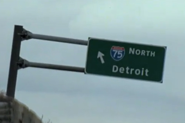 Detroit: welcome to motor city