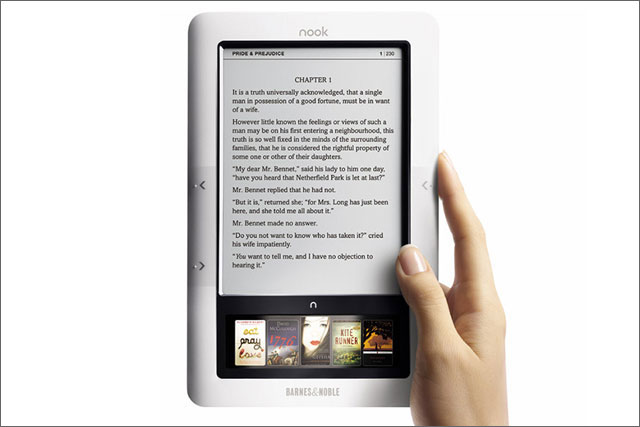 Barnes & Noble: Nook e-reader