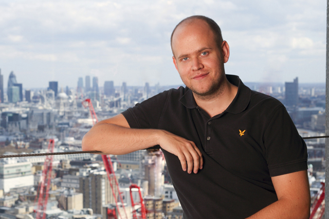 Spotify: founder Daniel Ek