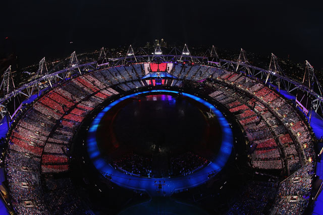 London 2012 Opening Ceremony peaks at 26.9 million viewers (picture provided by Crystal CG)