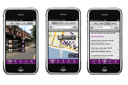 Zoopla: unveils AR iPhone app