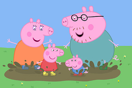 Peppa Pig: popular cartoon is seen in 180 countries