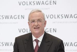 VW CEO Martin Winterkorn