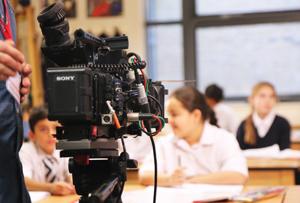 Shooting for Tutorfair's TV campaign