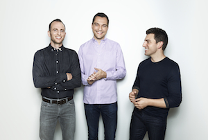 Airbnb's founders
