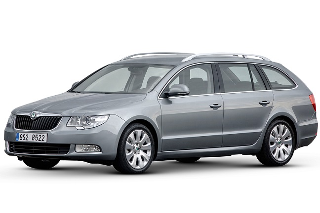 skoda superb estate sensible and spacious if not sensational. Black Bedroom Furniture Sets. Home Design Ideas