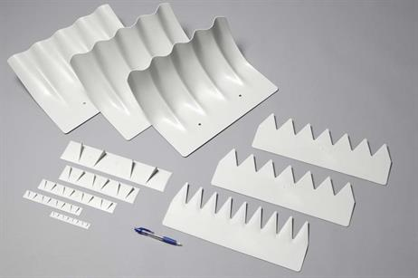 Components that make up Siemens' power curve upgrade include a DinoShell, DinoTail and Vortex Generator.