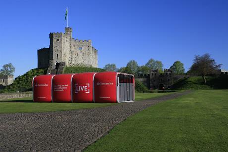 Santander 'Breakthrough Box'
