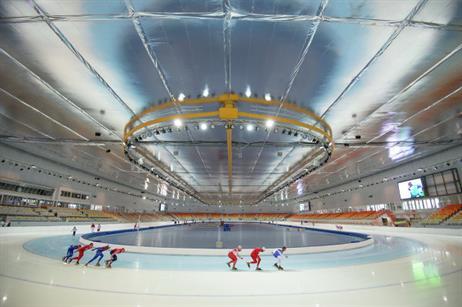 Adler Arena Skating Center, Sochi 2014 Winter Olympics (Sochi Media Center)