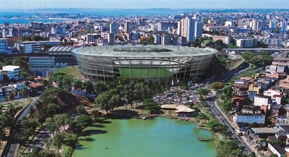 Arena Fonte Nova, Salvador, Brazil 2014 (Fifa.com)
