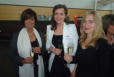 Drinks reception at the Wine Tower, Radisson Blue Stansted