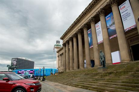 UK Trade & Investment's British Business Embassy event launched the festival at St Georges Hall on Lime Street, Liverpool.