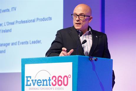 George P Johnson, VP sales & marketing, EMEA, Kevin Jackson
