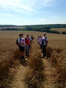 Capita Travel and Events' 55-mile charity trek