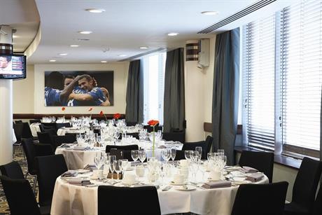 Chelsea FC tasting event