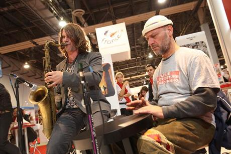 The Turkish booth welcomed traditional musicians to Imex America in Las Vegas on 9-11 October 2012.