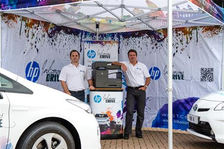 HP's 'Inkonomy Drive' by Corporate Innovations
