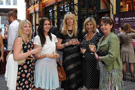London & Partners welcomed the show's hosted buyers to Leadenhall Market for a street party on Monday.