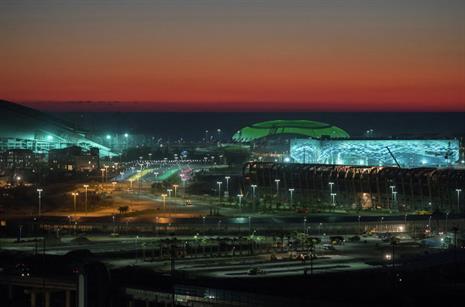 Olympic Park, Sochi 2014 Winter Olympics (Sochi Media Center)