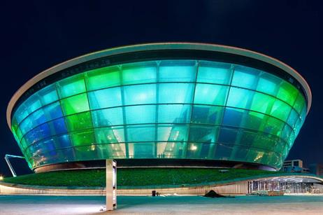 The SSE Hydro exterior (credit: Neale Smith Photography)