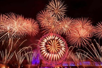 Jack Morton's NYE fireworks.
