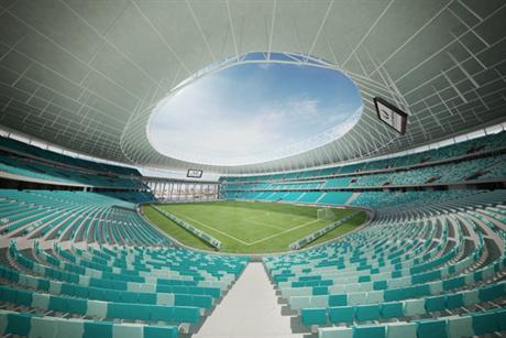 Rio 2016's Fonte Nova Arena mockup