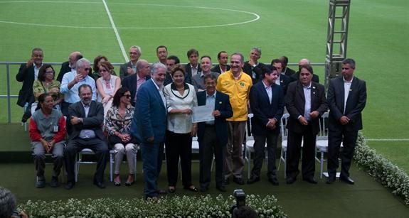 Rio 2016's Fonte Nova Arena presentation