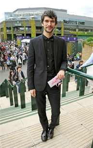 Ben Whishaw at the Evian Live Young Suite