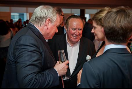 FT 125th anniversary: The Politics Show's Andrew Neil enjoying the hospitality