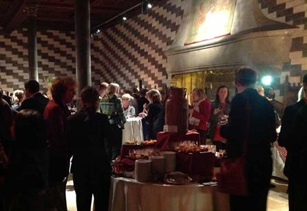 EMEC 2013 delegates network at Chillon Castle in Montreux, ahead of the conference.