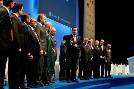 David Cameron at the World Islamic Economic Forum 2014 this week at London Excel.