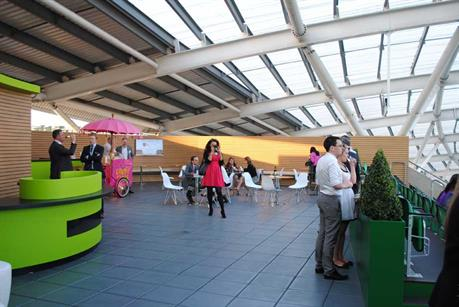 Kia Oval's terrace event space