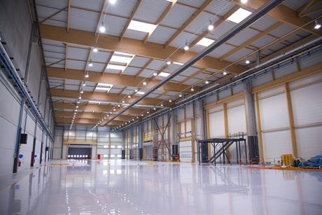 The facility will built Alstom's 6MW Haliade offshore turbine