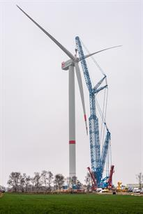 Senvion's 6.2MW prototype has been installed in Germany