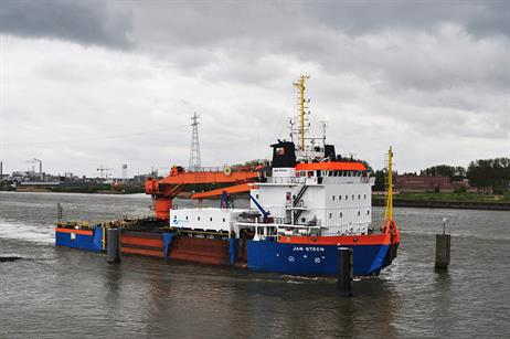 A 20-person accommodation module sited aboard the Van Oord Jan Steen vessel