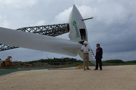 Vergnet is a French manufacturer of small wind turbines